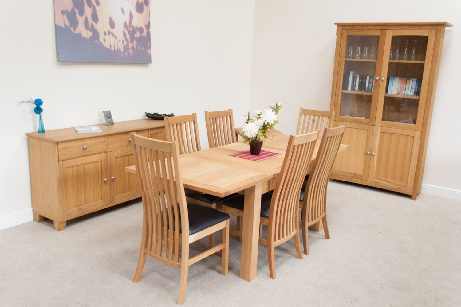 Extending Oak Dining Tables With Famous Lichfield Double Extending Oak Kitchen Table – 1.3M 1.7M 2.1M Size (Gallery 17 of 25)