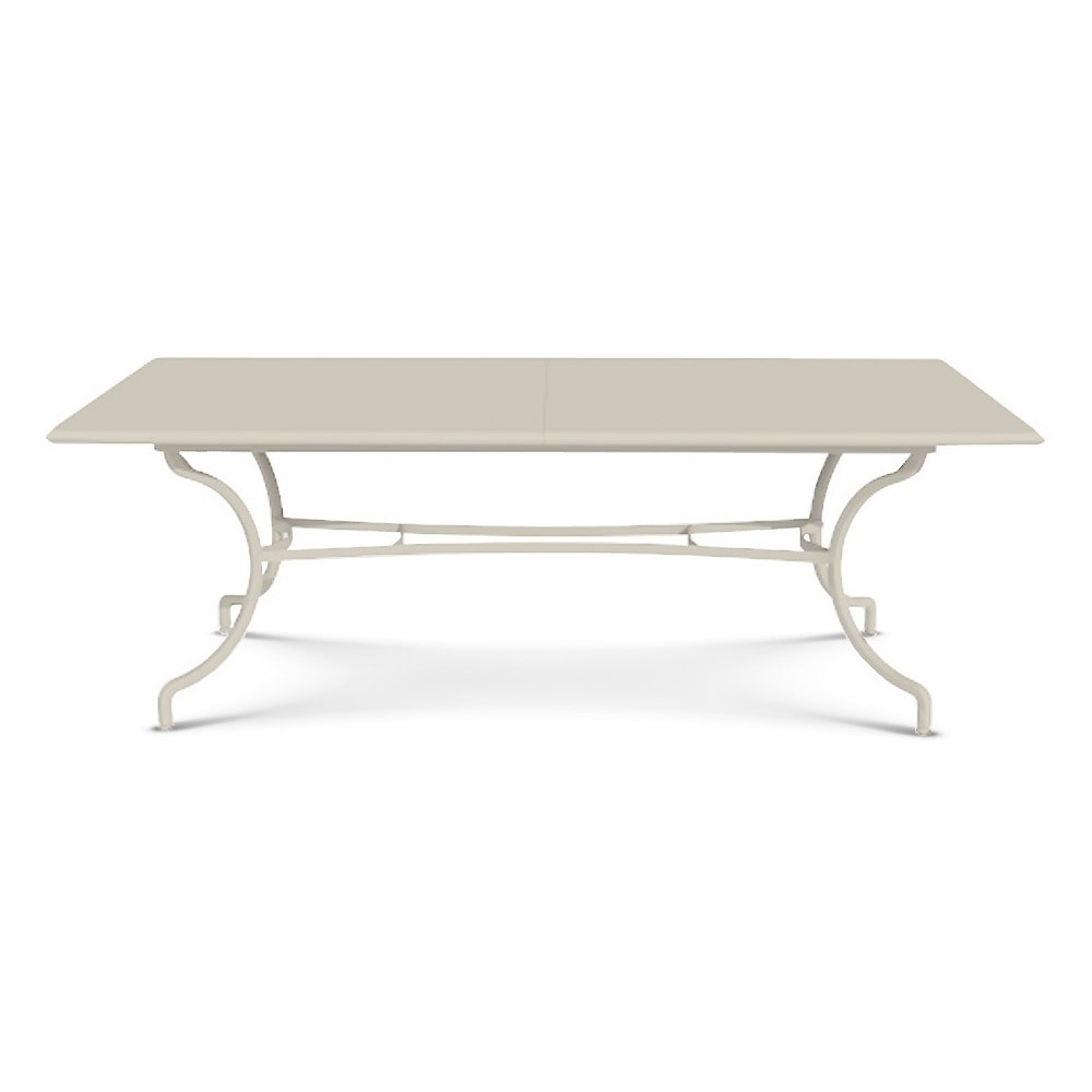 Extending Rectangular Dining Tables with regard to Trendy Ethimo Elisir Extending Rectangular Dining Table