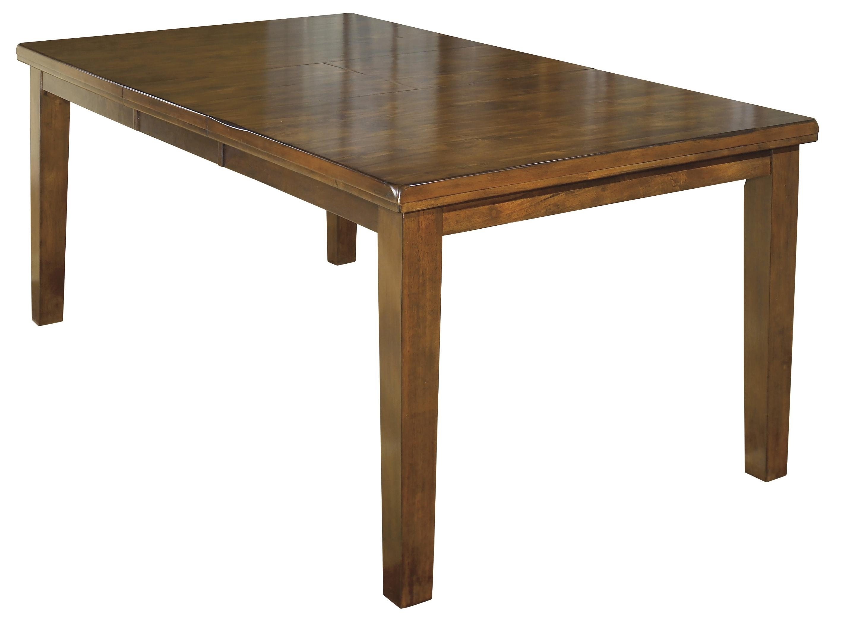 Extending Rectangular Dining Tables Within Trendy Signature Designashley Ralene Casual Rectangular Butterfly Leaf (Gallery 21 of 25)