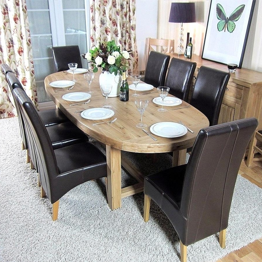 Extraordinary Oak Furniture Large Dining Table Oakita Paris Solid With Preferred Paris Dining Tables (Gallery 13 of 25)