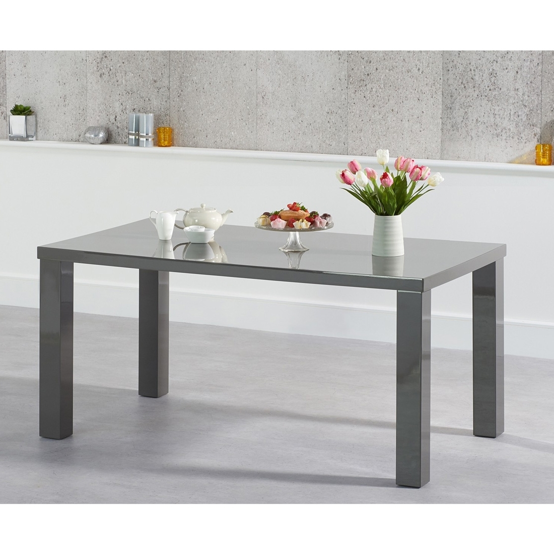 Fads With Regard To Latest Grey Gloss Dining Tables (View 7 of 25)