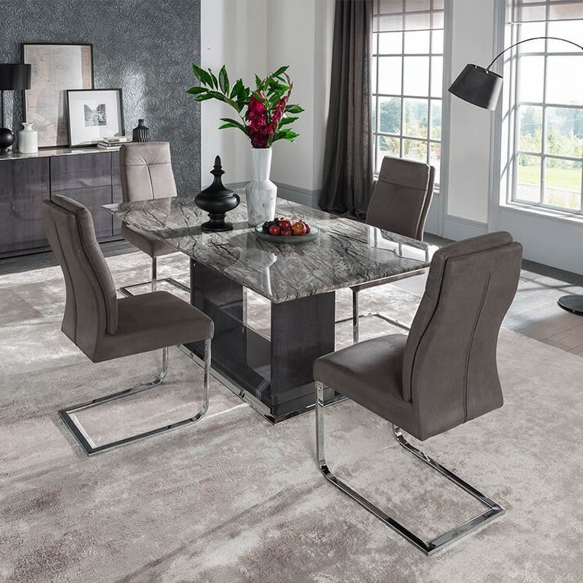 Fads With Regard To Most Recent 8 Seater Black Dining Tables (View 21 of 25)