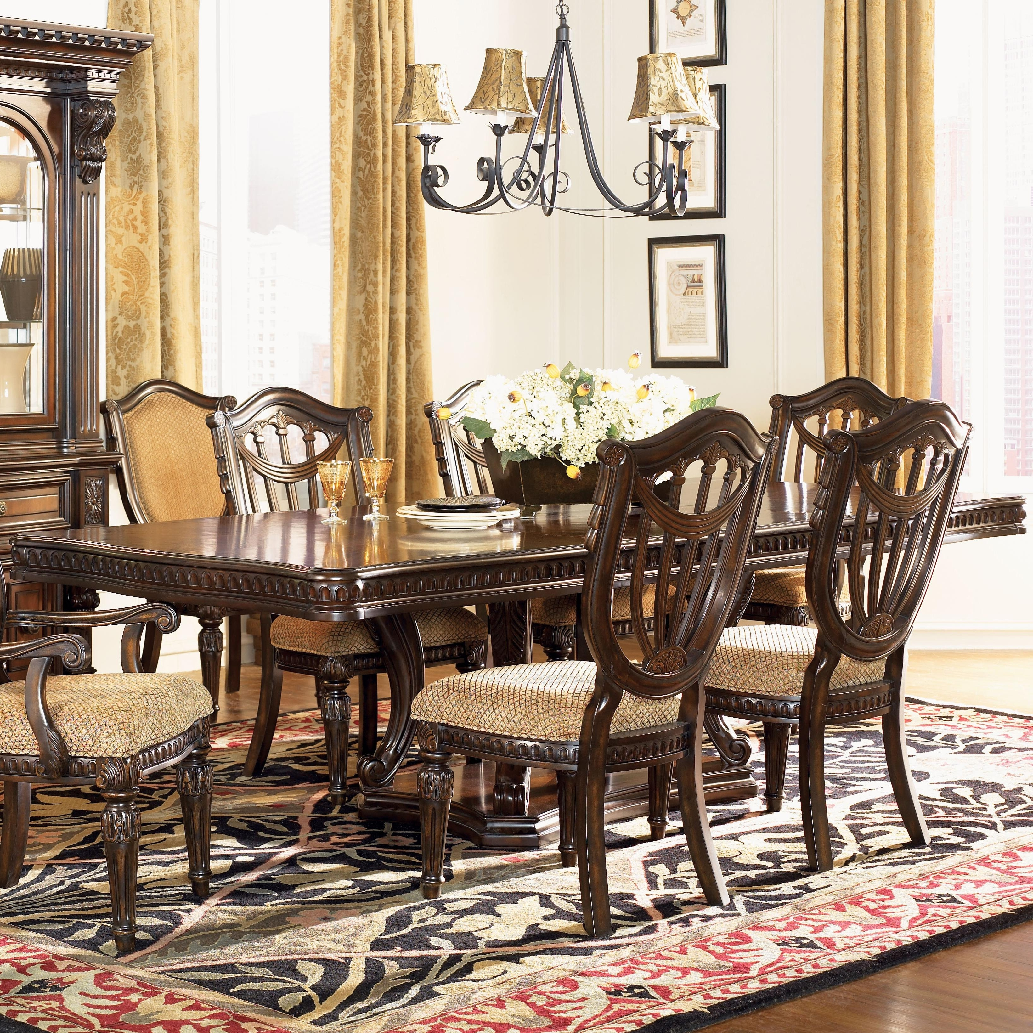 Fairmont Designs Grand Estates Double Pedestal Rectangular Dining Pertaining To Current Royal Dining Tables (View 3 of 25)
