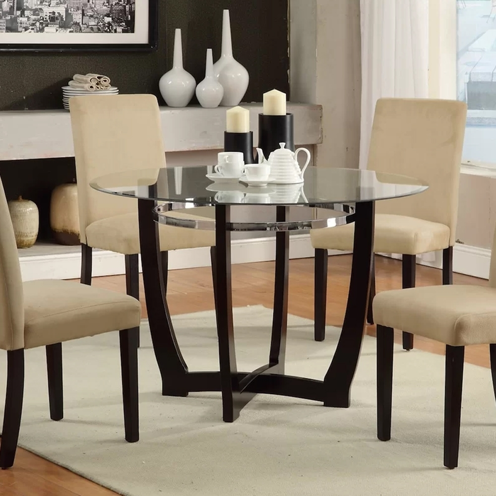 Famous 5 Piece Dining Set – Home Decor Furniture Pertaining To Caden 5 Piece Round Dining Sets With Upholstered Side Chairs (View 10 of 25)