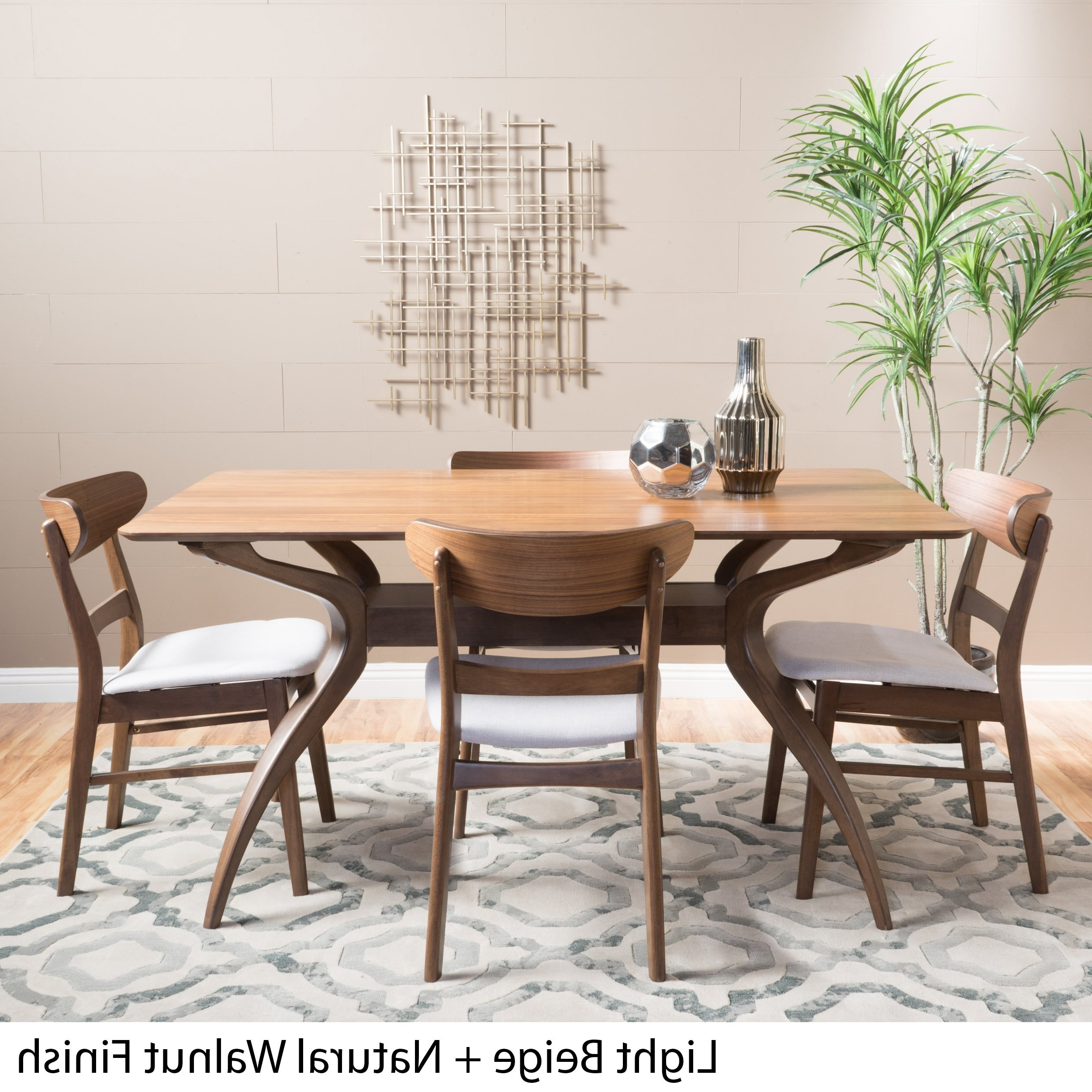 Famous Brown Kitchen & Dining Room Sets For Less (View 13 of 25)