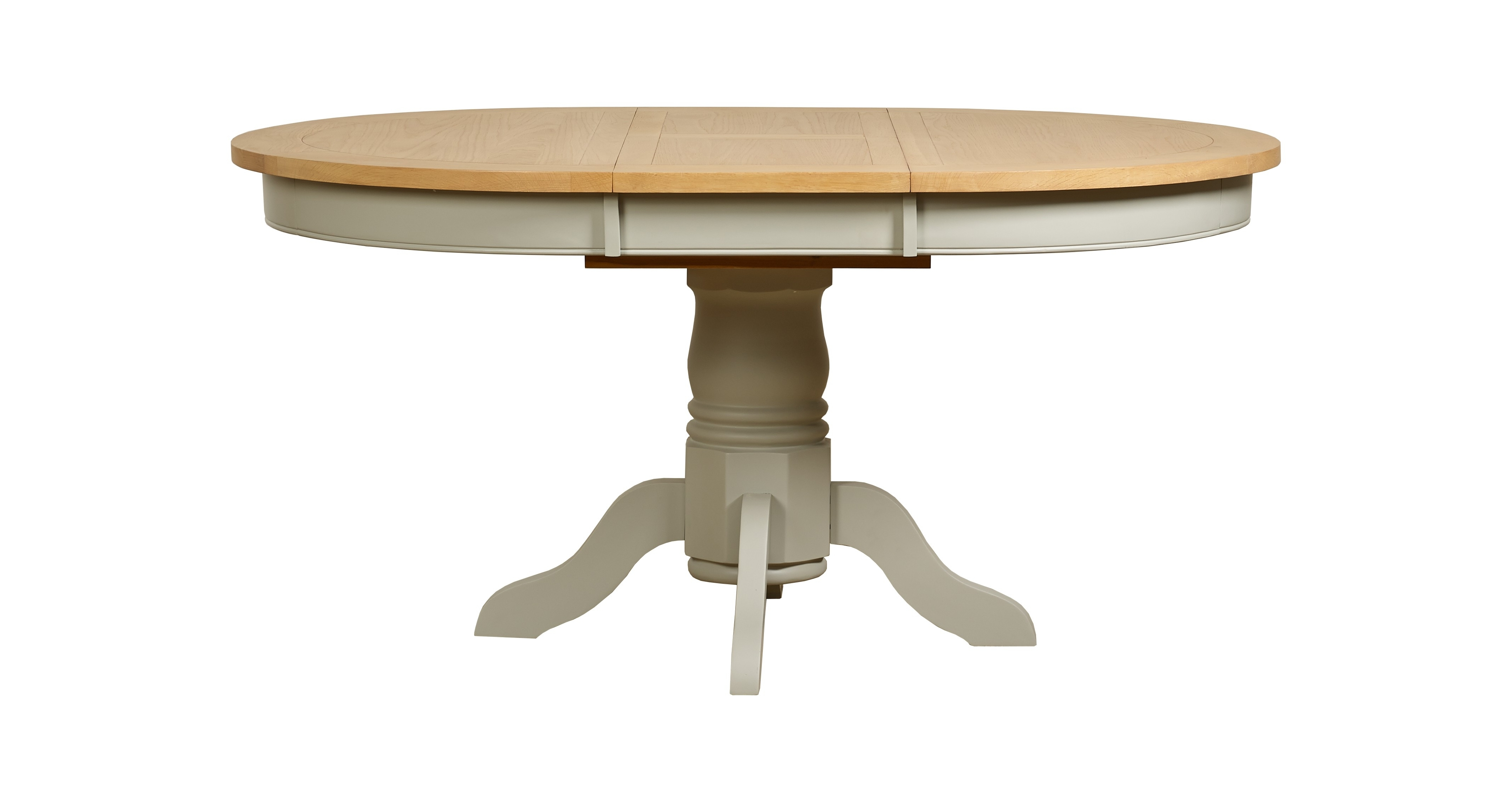 Famous Circular Extending Dining Tables And Chairs For Bordeaux Round Extending Dining Table – Style Our Home (View 12 of 25)