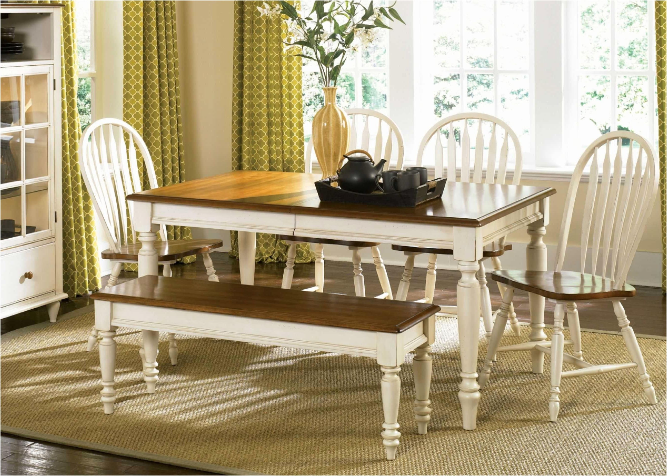 Famous Country Dining Tables Intended For French Country Dining Room Sets Country Style Dining Table Shabby (View 8 of 25)