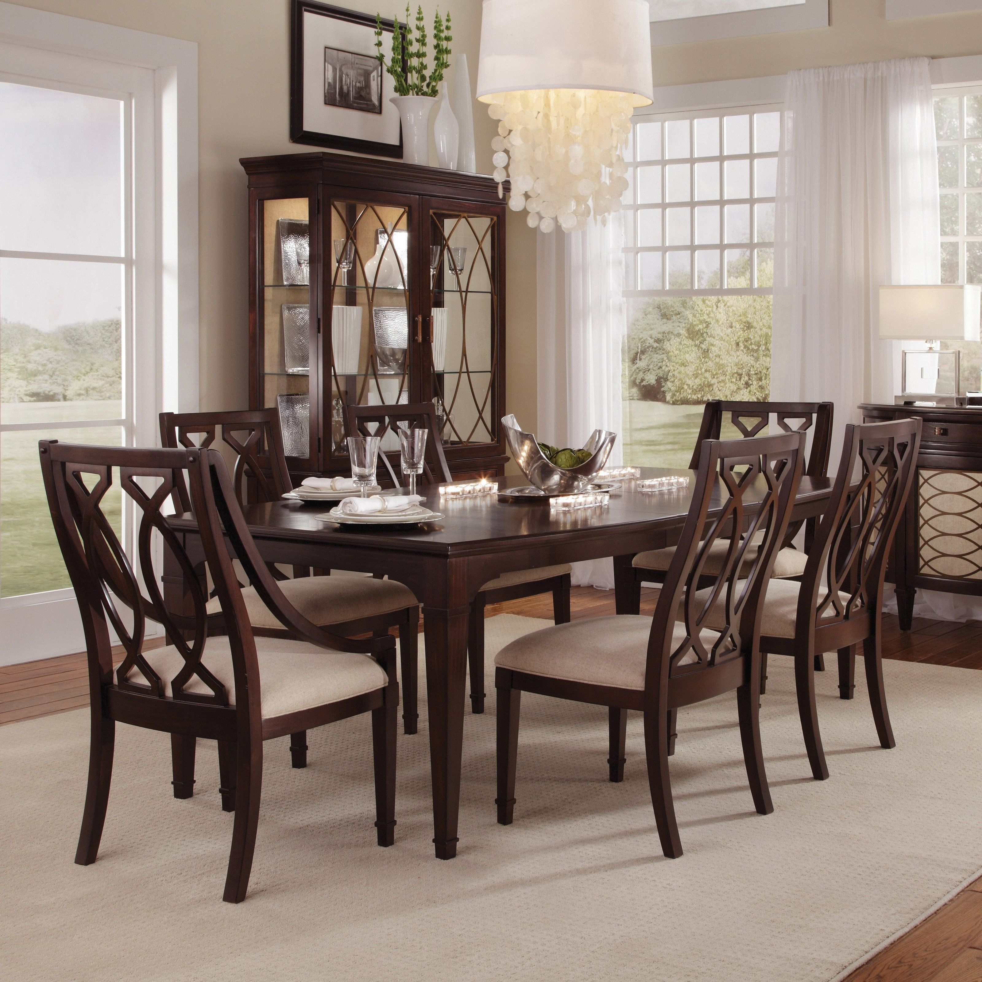 Famous Dark Wood Dining Tables And Chairs Inside Have To Have It. A.r.t (View 3 of 25)