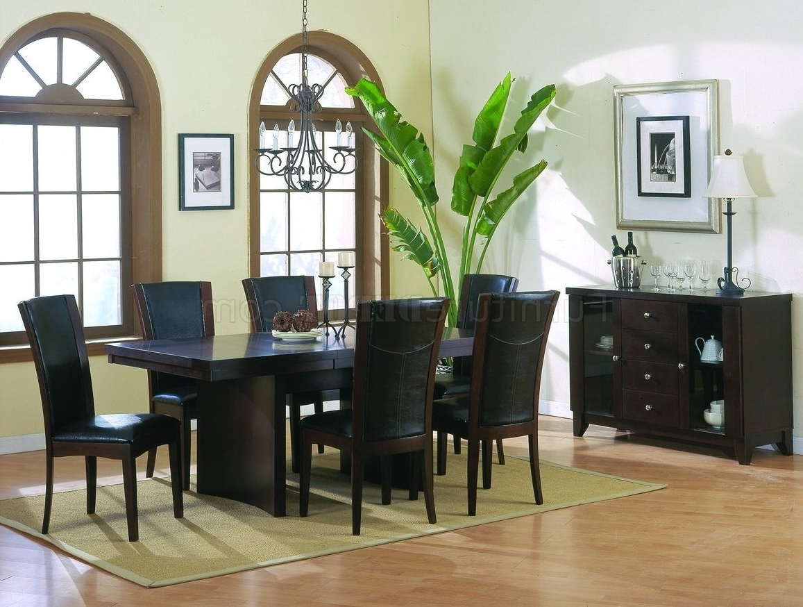 Famous Espresso Rectangular Dining Table – Dining Tables Ideas With Lindy Espresso Rectangle Dining Tables (View 9 of 25)