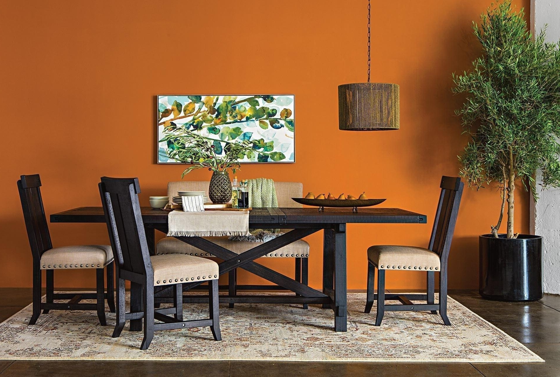 Famous Jaxon Round Extension Dining Tables With Regard To Deluxe Rectangular Room Table Ismaya Design Image Jaxon Extension (View 7 of 25)