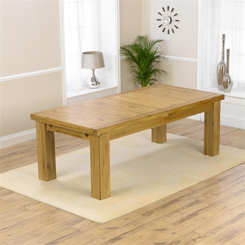 Famous Laurent Solid Oak 2.3  (View 5 of 25)
