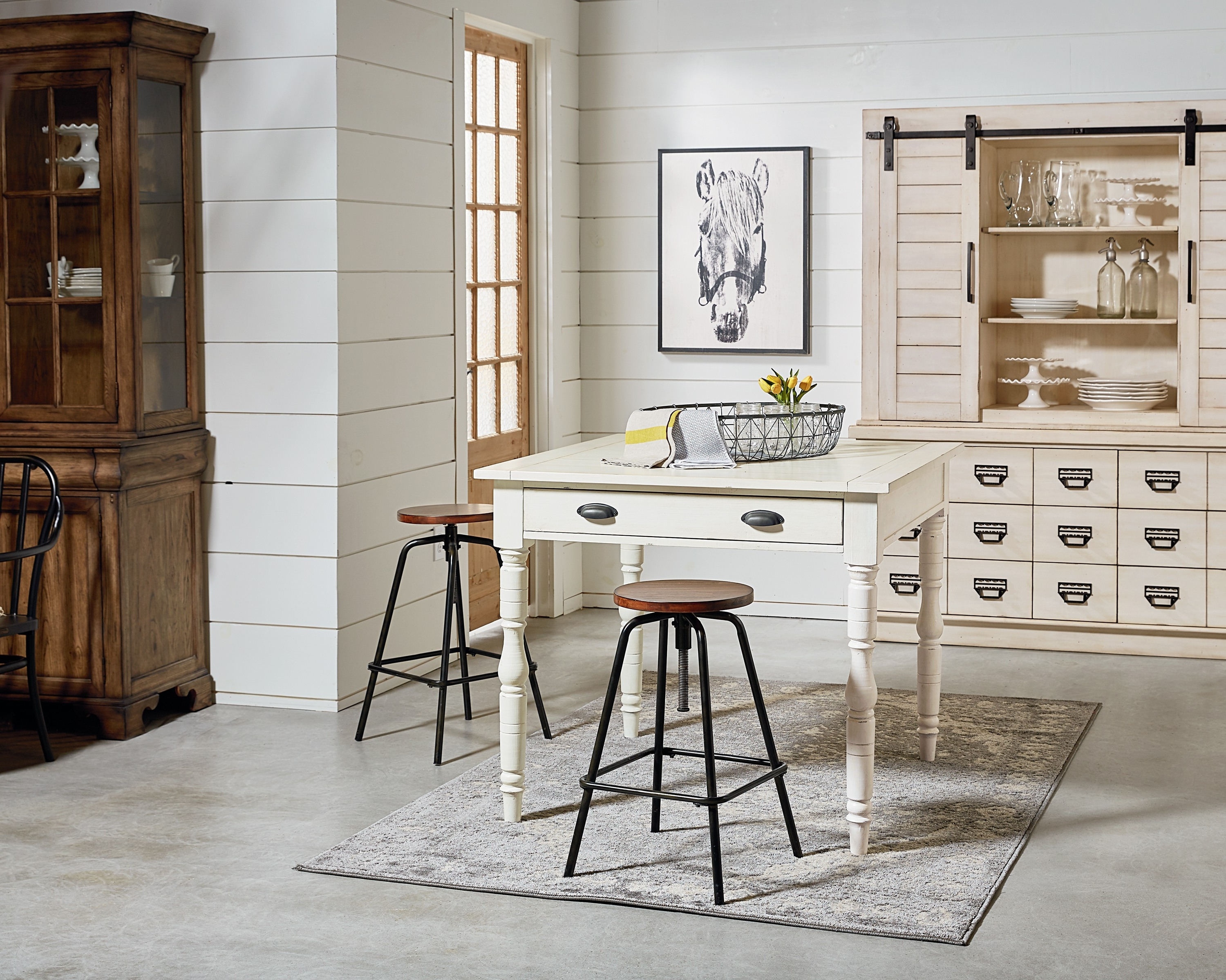 Famous Magnolia Home Taper Turned Jo's White Gathering Tables Pertaining To Taper Turned + Archive – Magnolia Home (View 5 of 25)
