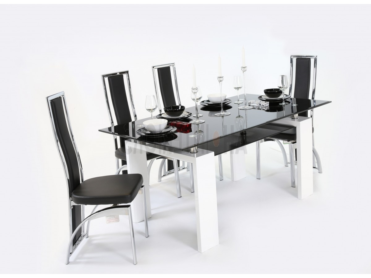 Famous Metro Dining Tables For Metro Dining Table With Mayfair Chairs (View 7 of 25)