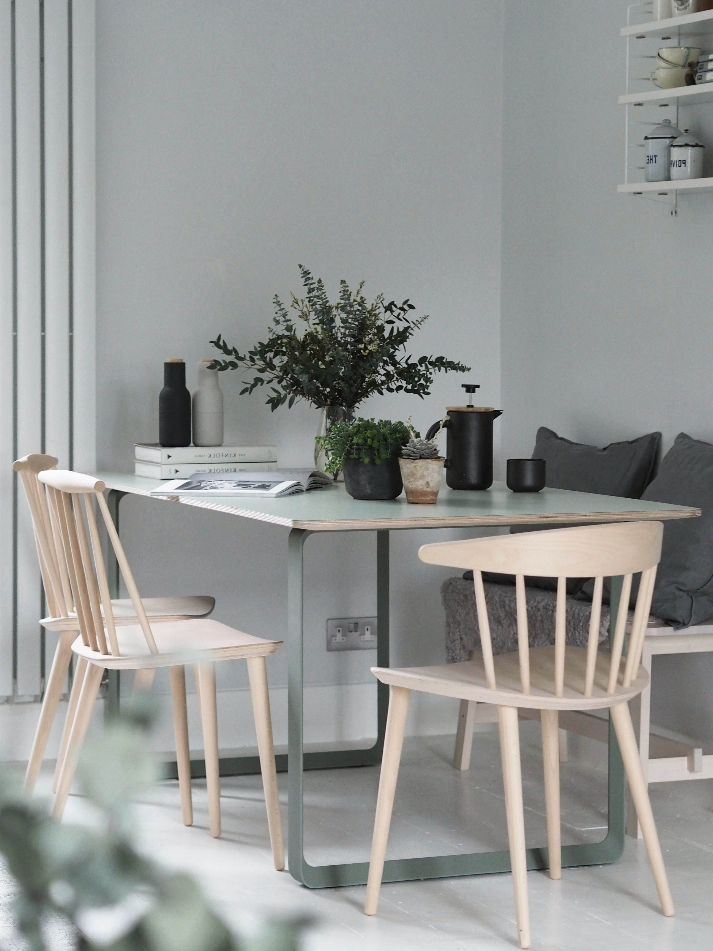 Famous My Muuto 70/70 Table – Modern Scandinavian Design Dining Table (View 18 of 25)