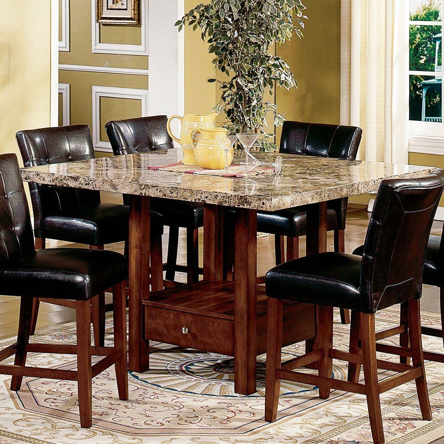 Famous Palazzo 6 Piece Dining Sets With Pearson Grey Side Chairs Intended For Have To Have It (View 7 of 25)