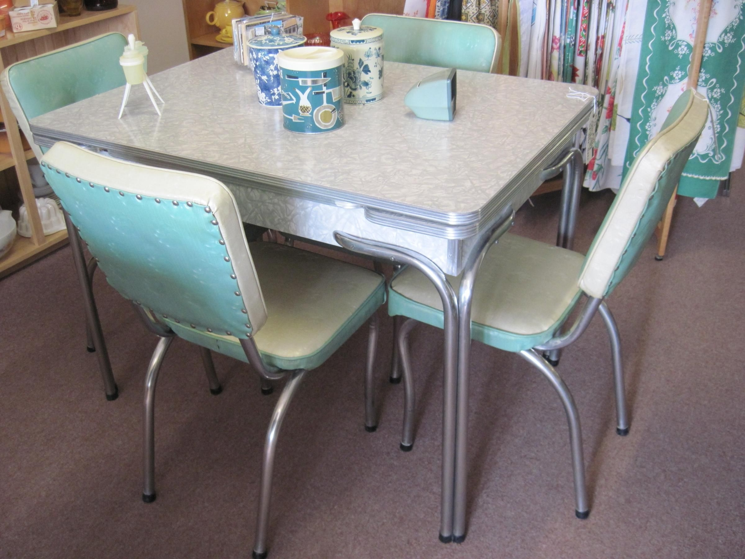 Famous Popular Cheap Vintage Dining Room Set New Interior Design Concept Inside Retro Glass Dining Tables And Chairs (View 6 of 25)