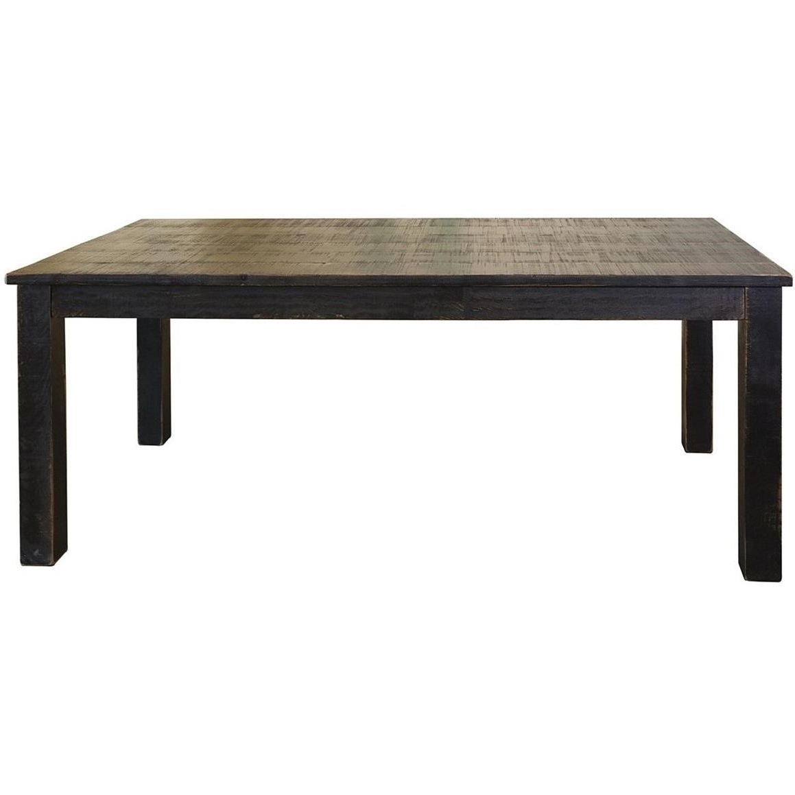 Famous Pueblo Rustic Wood Dining Tableinternational Furniture Direct At Dunk &  Bright Furniture With Wood Dining Tables (View 5 of 25)