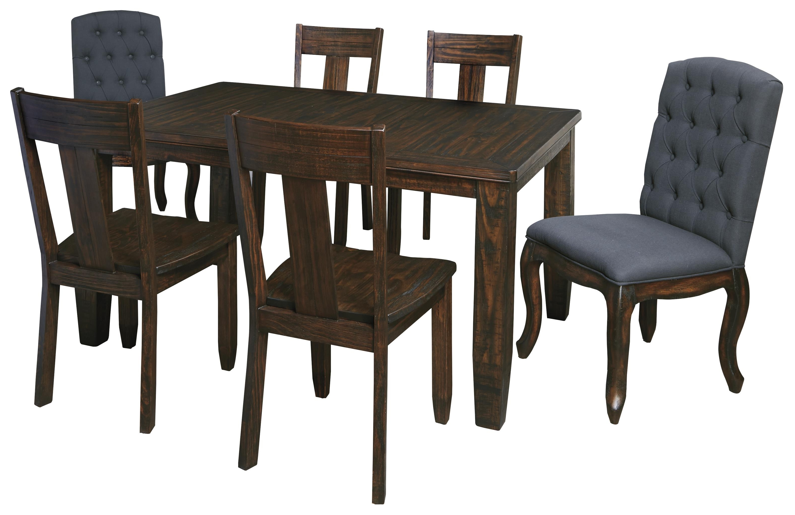 Famous Set 10 Victorian Upholstered Dining Chairs Seats Patterned Dining With Jaxon 7 Piece Rectangle Dining Sets With Upholstered Chairs (View 15 of 25)