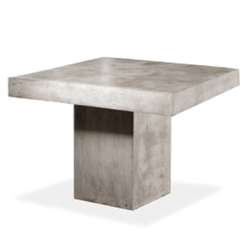 Famous Square Dining Tables In Kannoa Urban Square Dining Table – The Patio District (View 20 of 25)