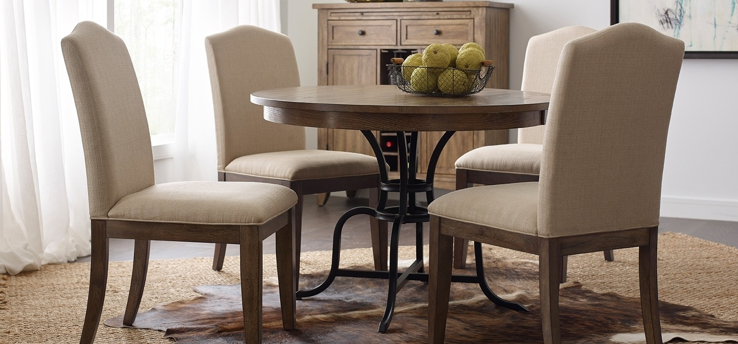Famous The Nook – A Casual, Kitchen Dining Solution From Kincaid Furniture For Oak Round Dining Tables And Chairs (View 16 of 25)