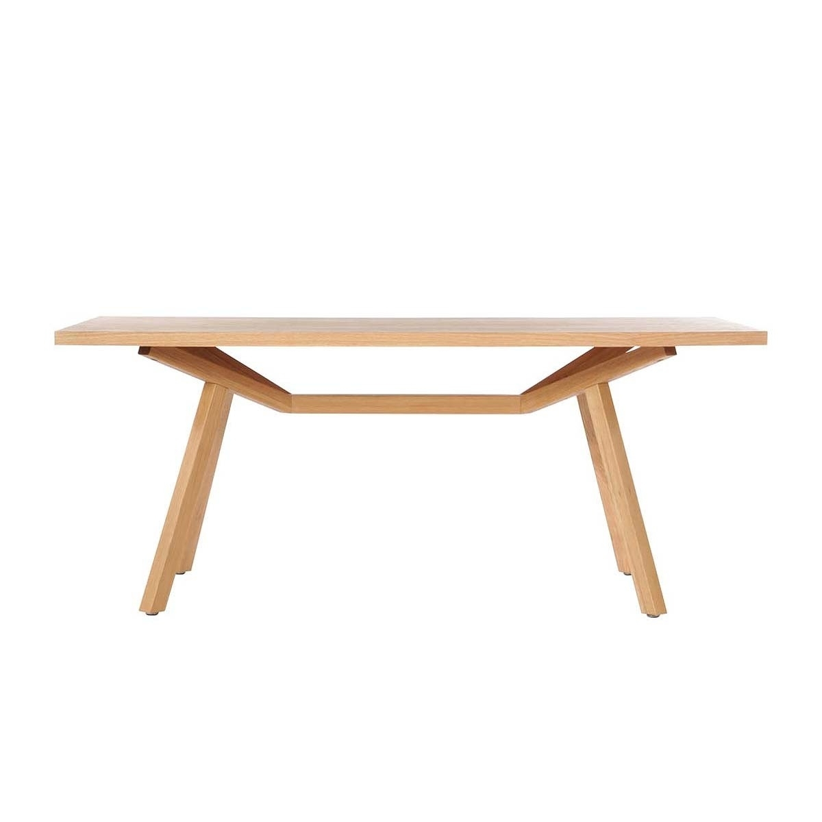Famous Tokyo Dining Tables Inside Sean Dix – Tokyo Dining Table (Oak, 180Cm) – Modern Dining Tables (View 12 of 25)