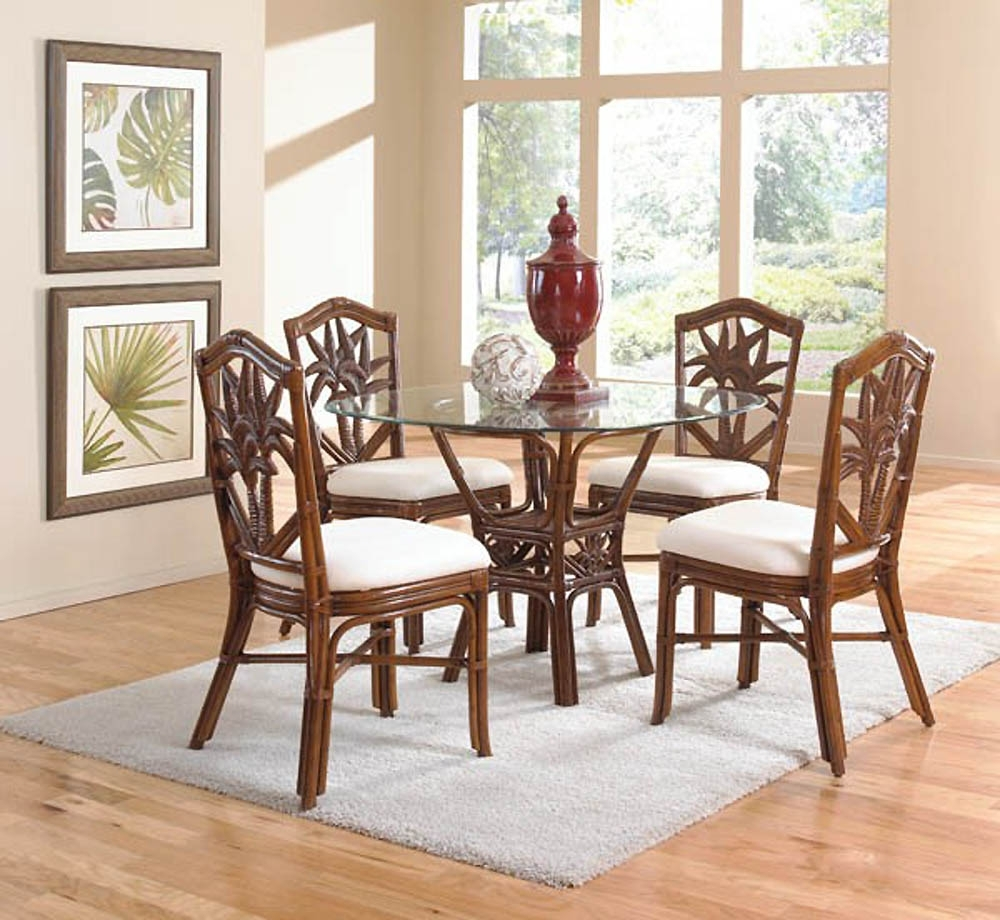 Famous Use Rattan Dining Chairs For Classic Dining Room – Designoursign Pertaining To Rattan Dining Tables And Chairs (View 16 of 25)