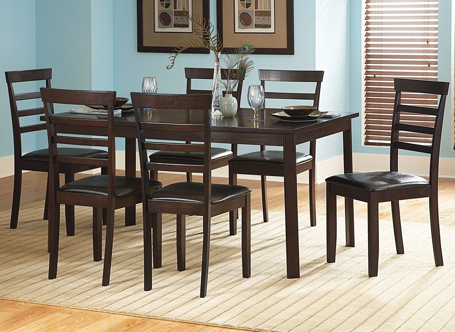 Famous Victoria Casual Dining 7 Pc (View 12 of 25)