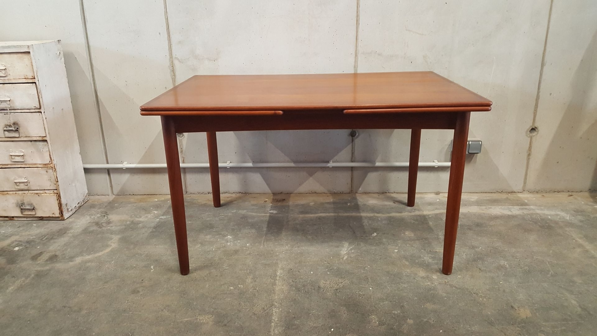 Famous Vintage Teak Extendable Dining Table, 1960S For Sale At Pamono Throughout Extendable Dining Tables (View 12 of 25)