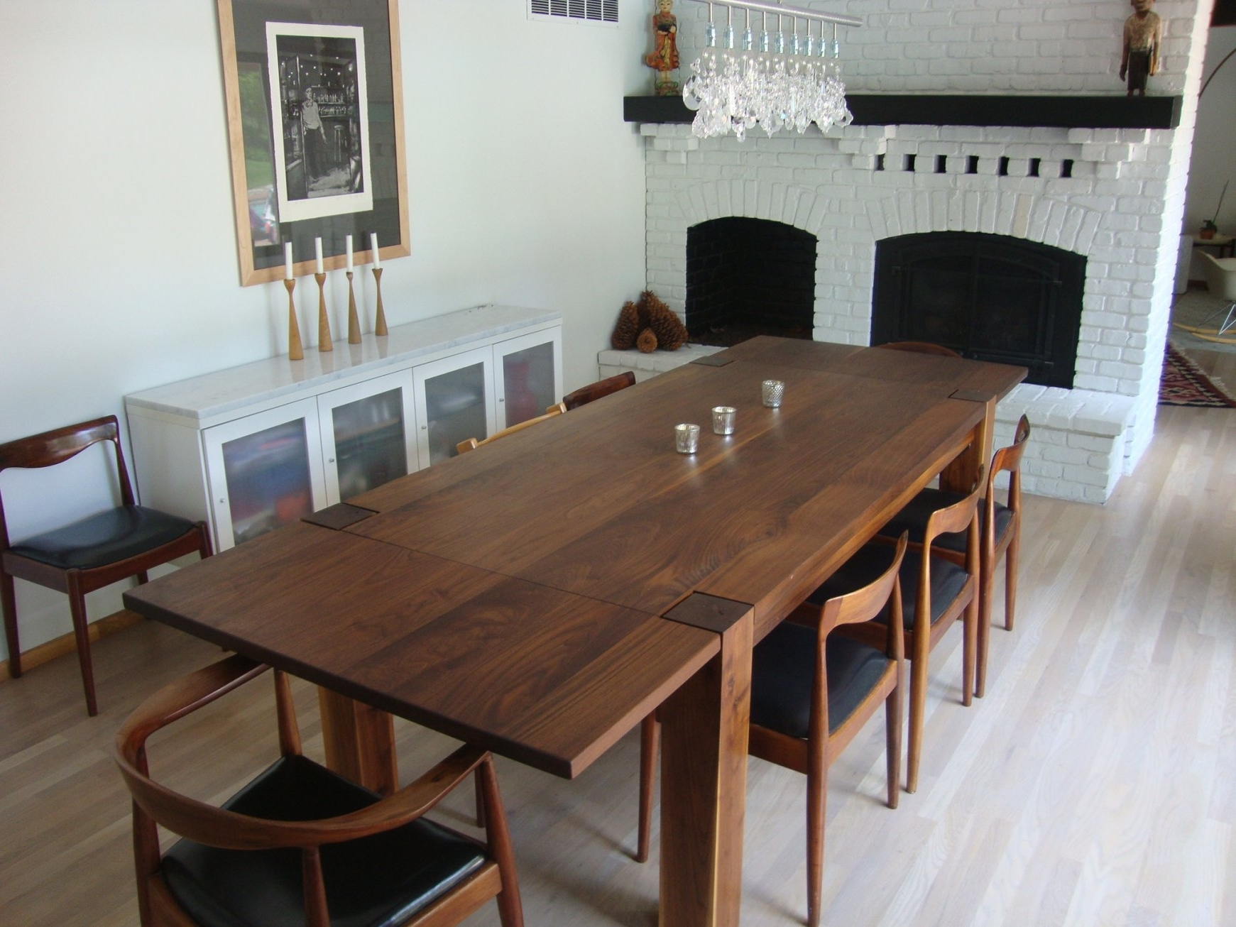 Famous Walnut Dining Room Set – Domainmichael Pertaining To Walnut Dining Table Sets (View 1 of 25)