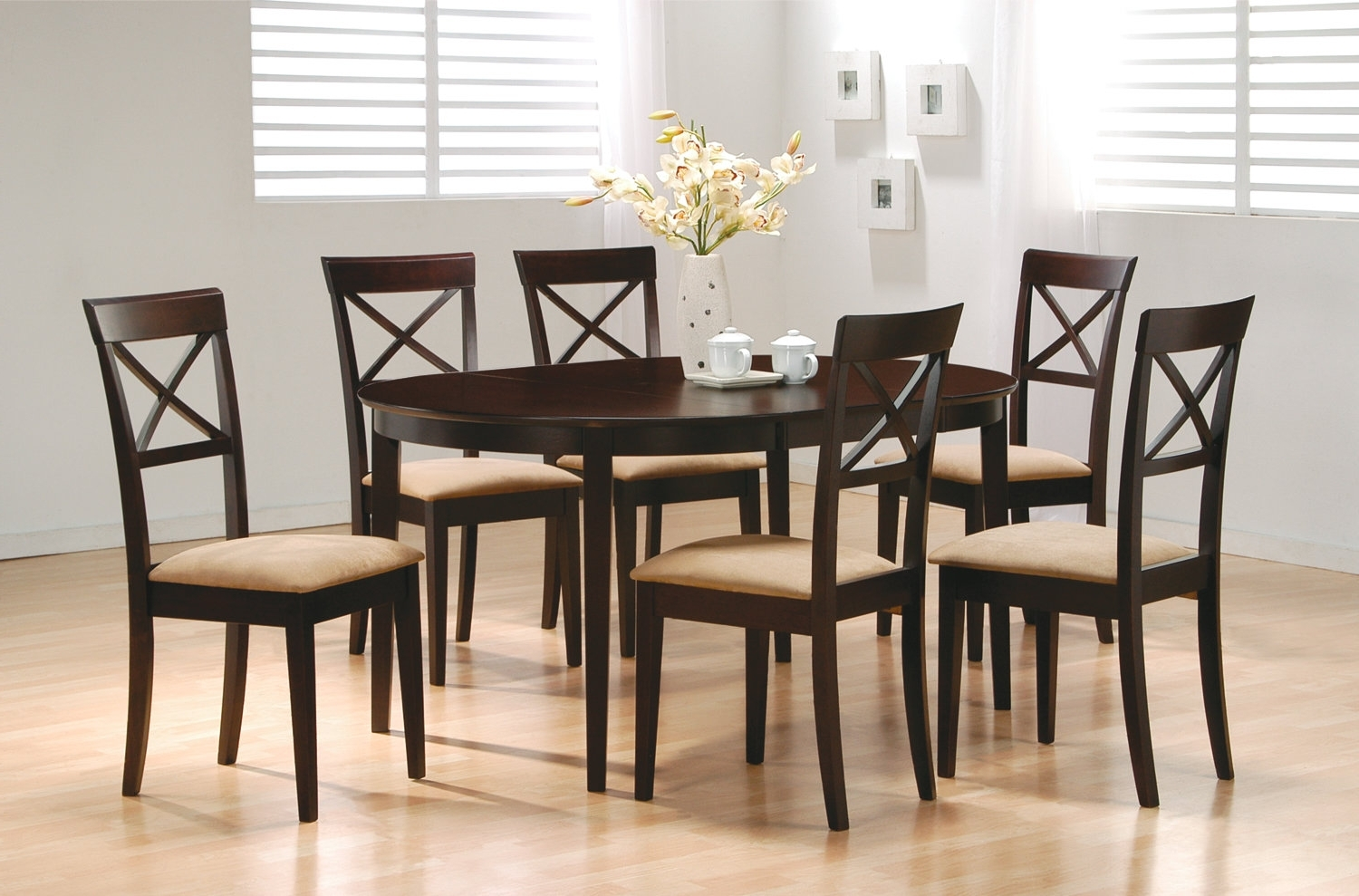 Famous Wildon Home ® Crawford 7 Piece Dining Set & Reviews (View 1 of 25)