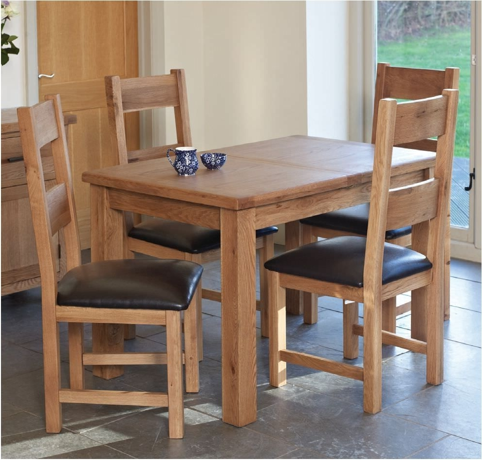 Fantastic Buy Furniture Link Hampshire Oak Dining Set Extending Pertaining To Newest Extending Oak Dining Tables And Chairs (View 23 of 25)