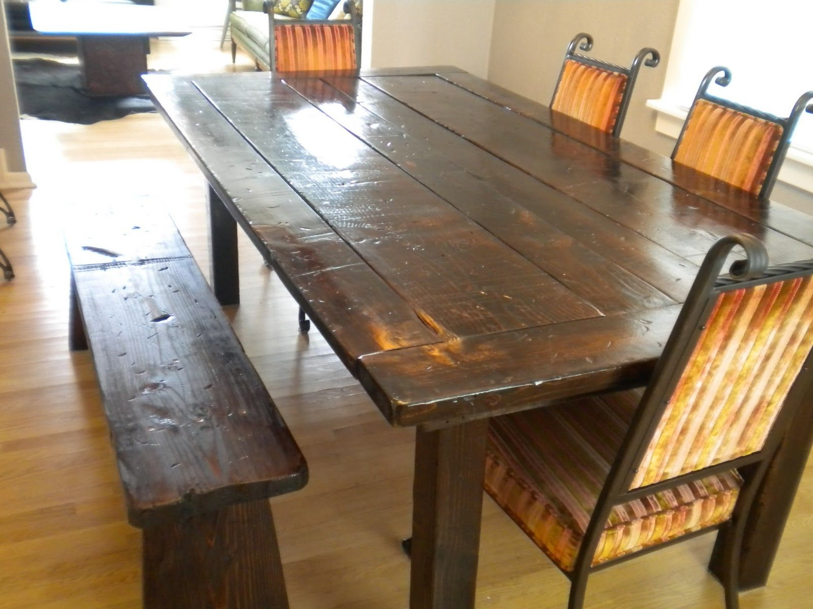 Farm Dining Tables Regarding Well Liked Farm Dining Tables.  (View 2 of 25)