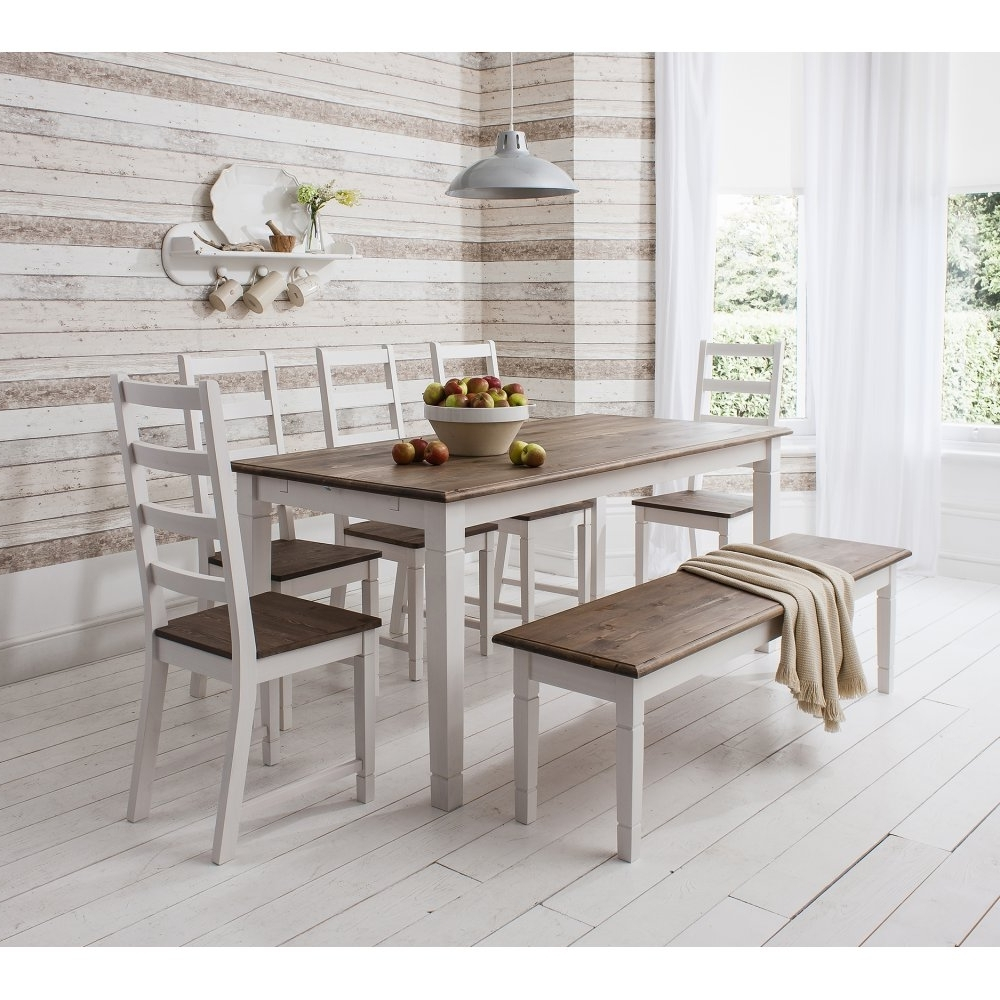Fashionable Canterbury Dining Table With Two Extensions (View 6 of 25)