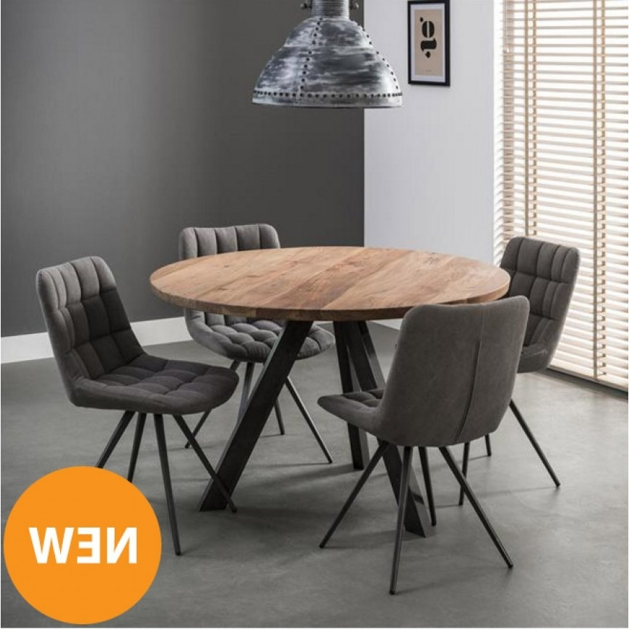 Fashionable Circular Dining Tables For 4 Regarding Dining Tables (View 11 of 25)