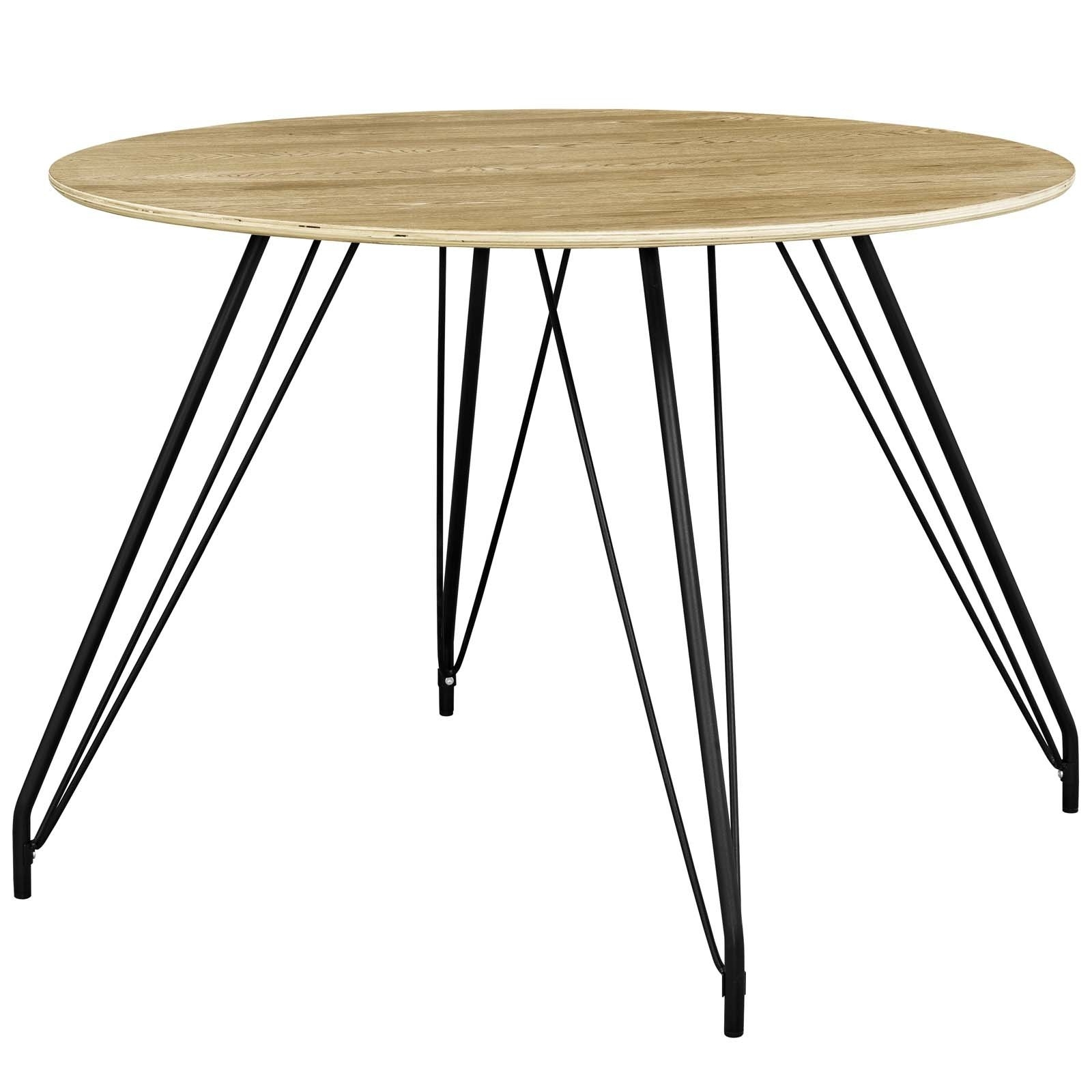 Fashionable Circular Dining Tables Regarding Foundry Select Cayman Circular Dining Table (View 16 of 25)