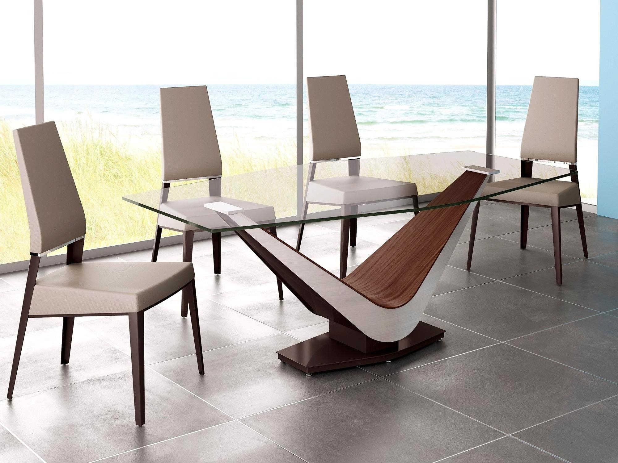 Fashionable Contemporary Dining Tables Throughout Outstanding Modern Design Dining Tables Full Size Modern Dining (View 11 of 25)