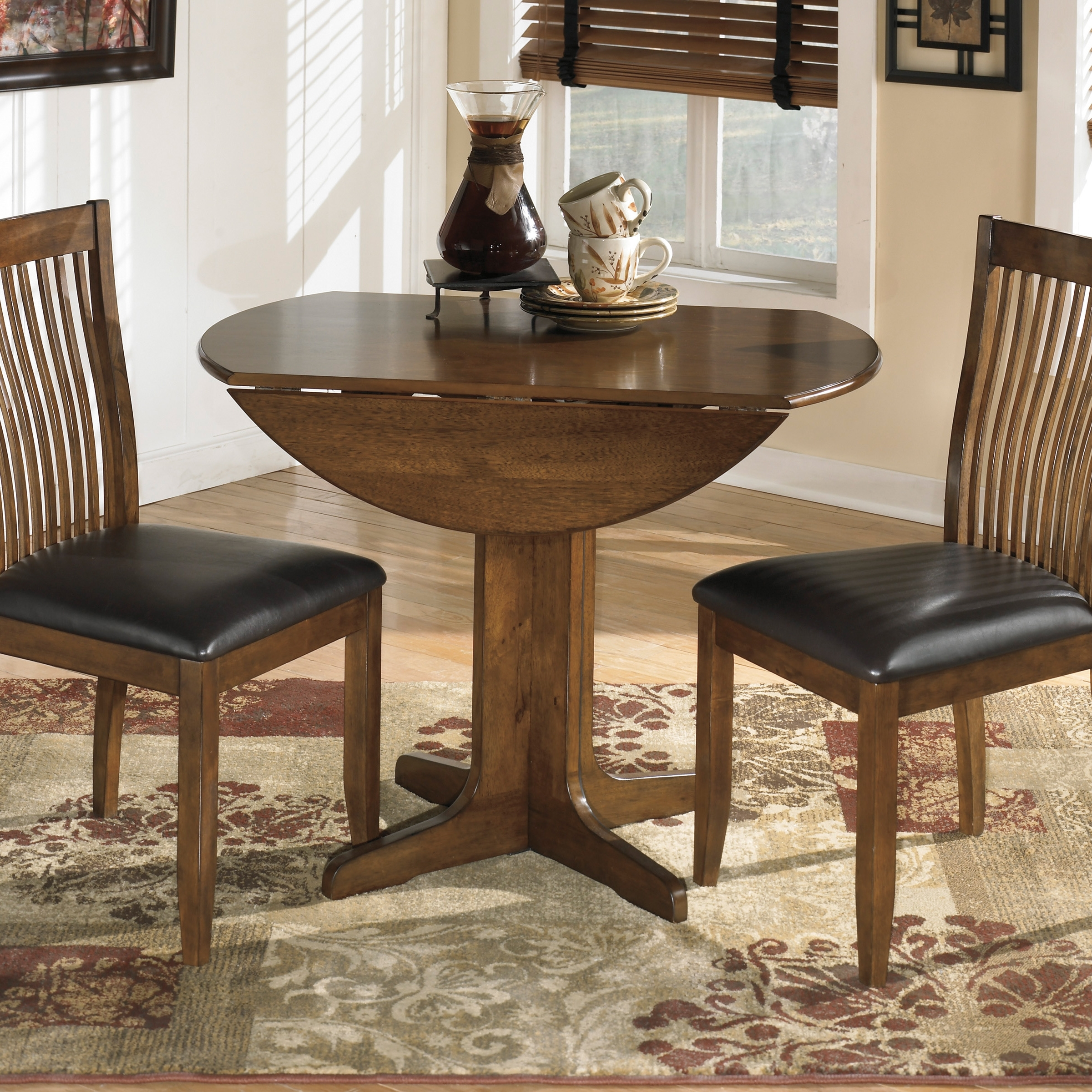 Fashionable Cool Small Round Dining Table Throughout Small Dark Wood Dining Tables (View 6 of 25)