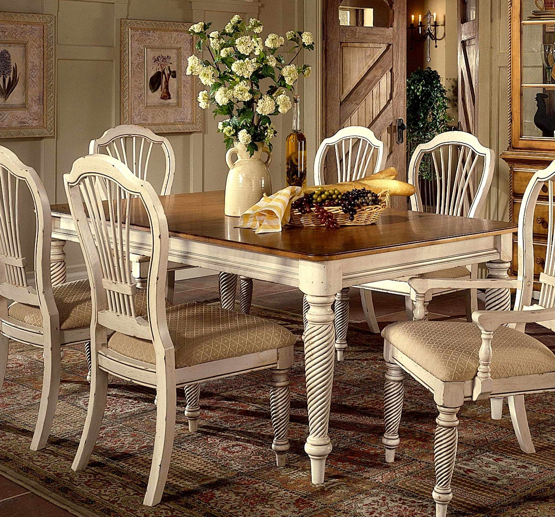 Fashionable Ebay Dining Suites In Charming Antique Furniture Dining Room Set – Esescatrina (View 21 of 25)