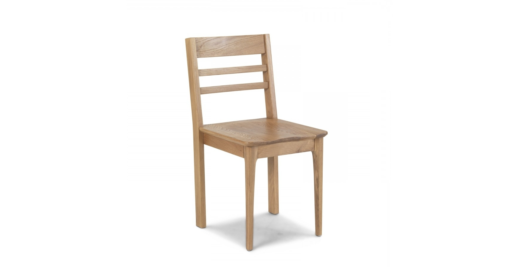 Fashionable Enfield Oak Dining Chair – Lifestyle Furniture Uk With Oak Dining Chairs (View 20 of 25)