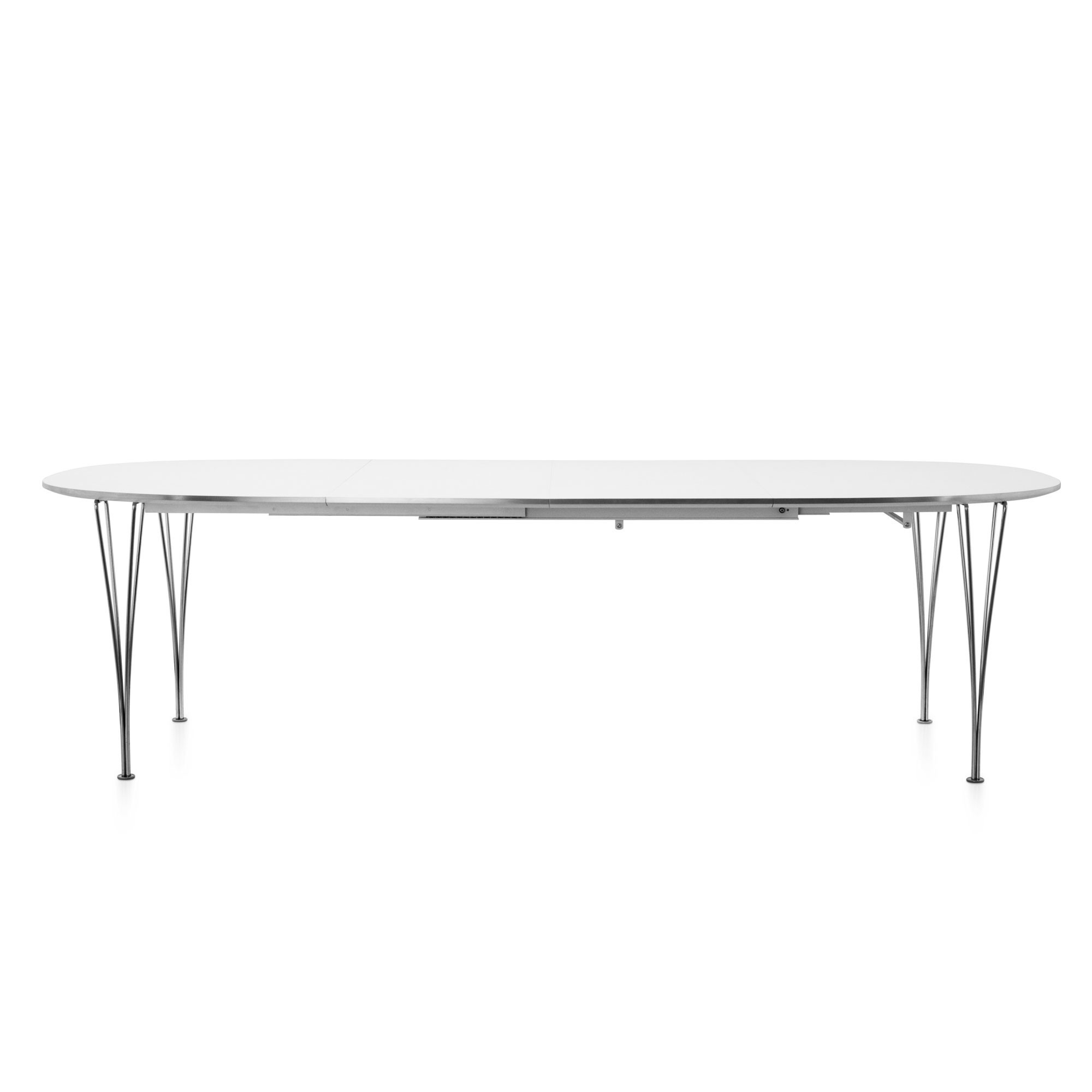 Fashionable Extension Table B619, Fritz Hansen, Super Elliptical – Plus Store With Lassen Extension Rectangle Dining Tables (View 8 of 25)