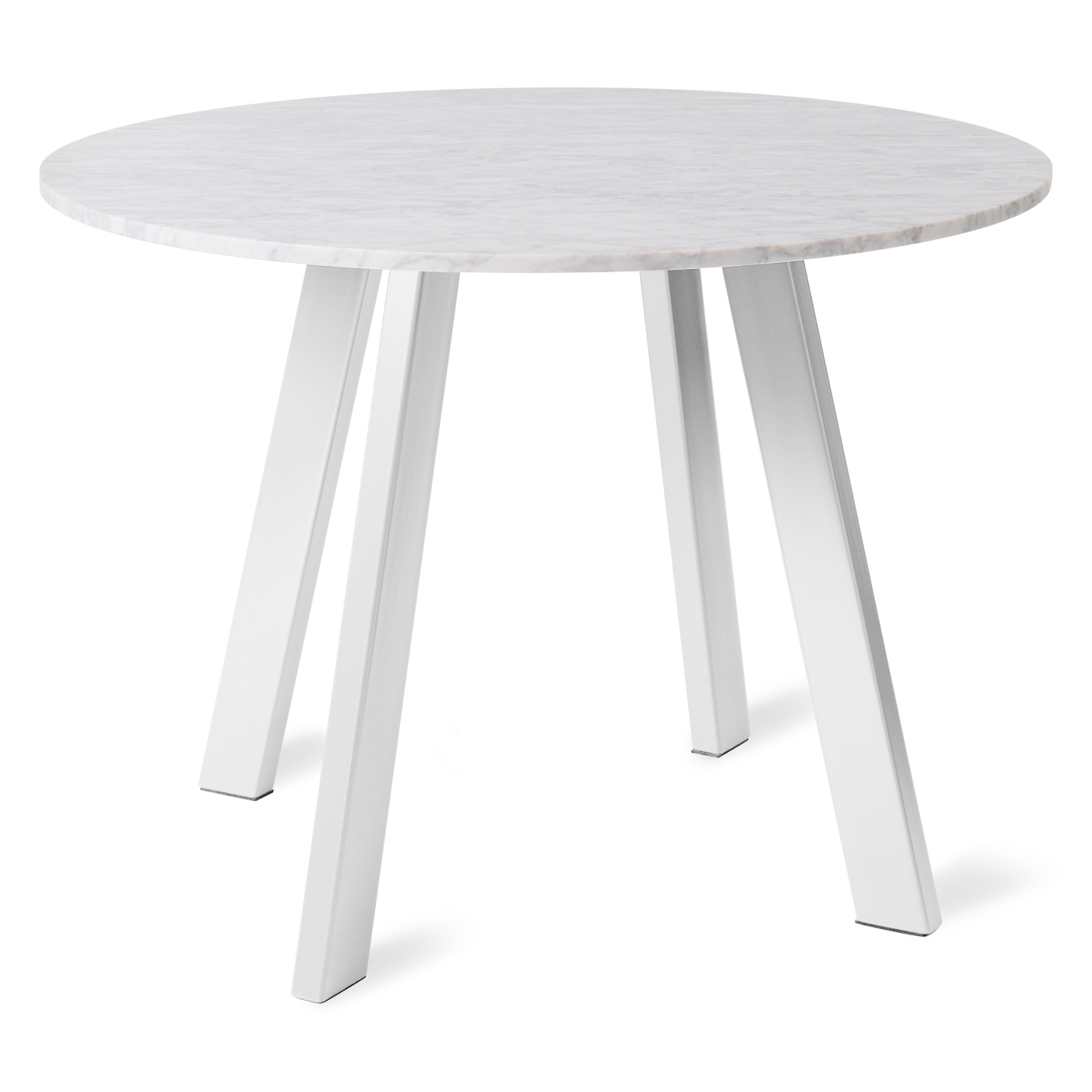 Fashionable Give A New Look To Your Dining Room With White Round Dining Table Pertaining To White Circle Dining Tables (View 20 of 25)