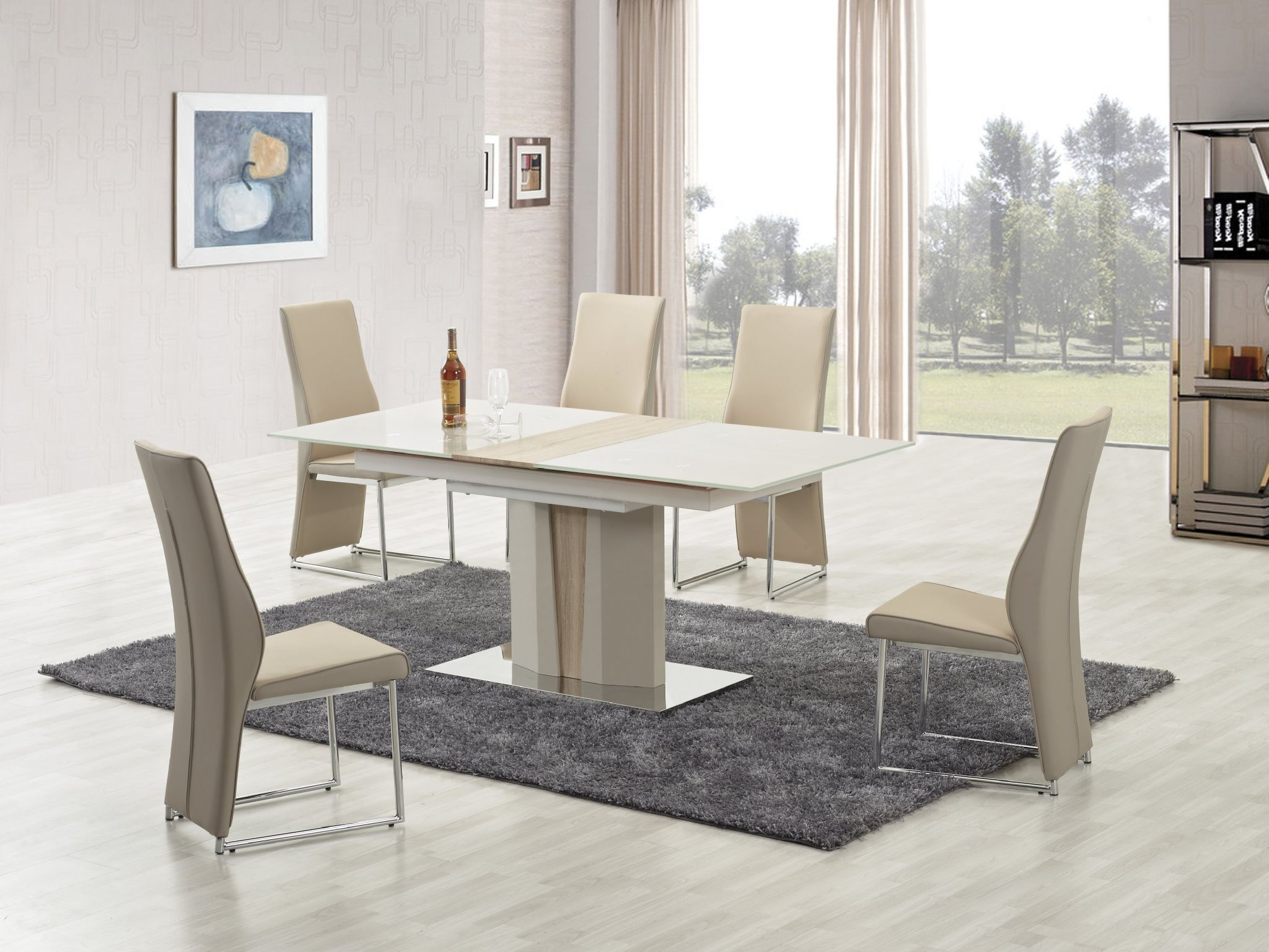 Fashionable Imperial Dining Tables Within Buy Imperial Champagne Extendable Dining Table (View 4 of 25)