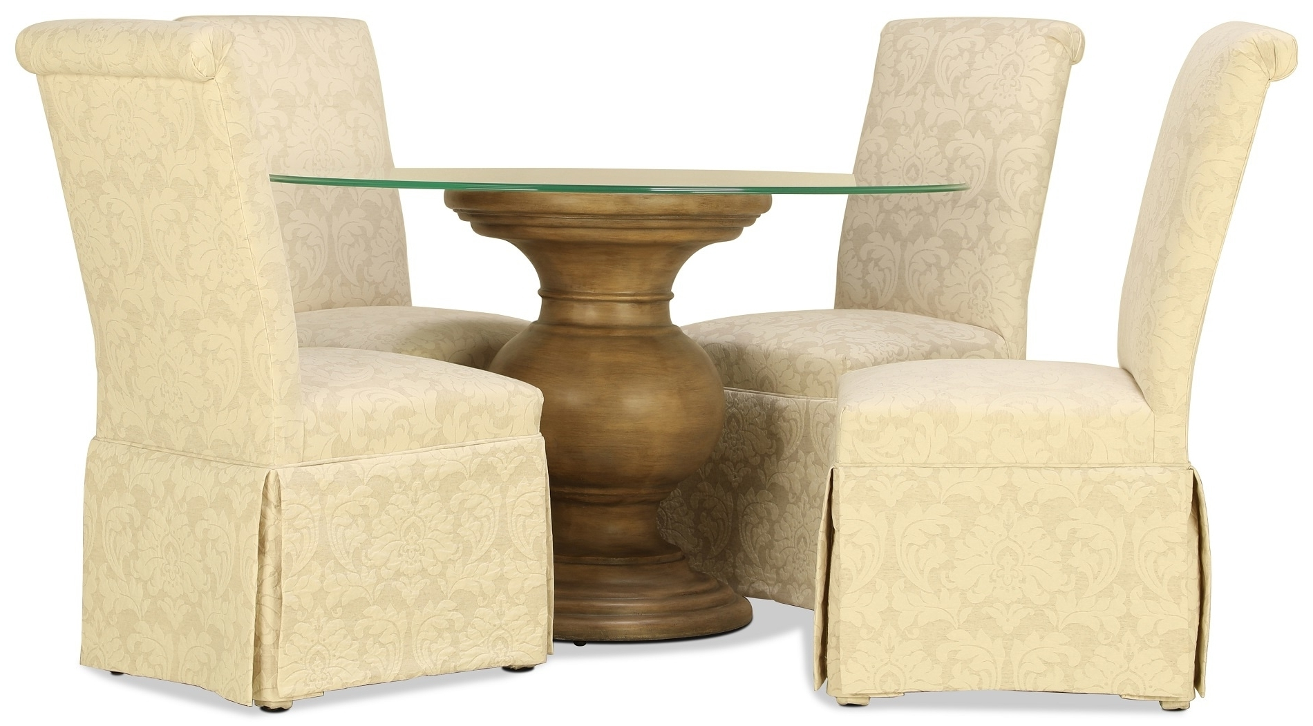 """Fashionable Isabella 48"""" 5Pc Dining Set (View 12 of 25)"""