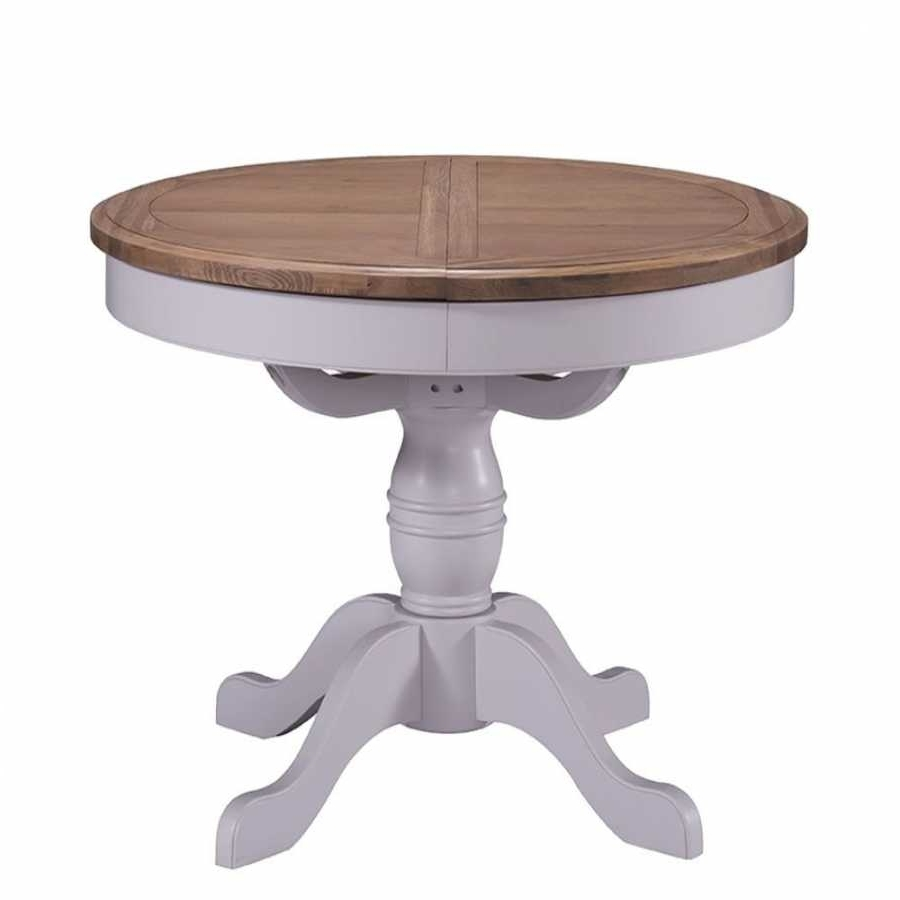 Fashionable Jaxon Round Extension Dining Tables Intended For Round Extension Table (View 18 of 25)