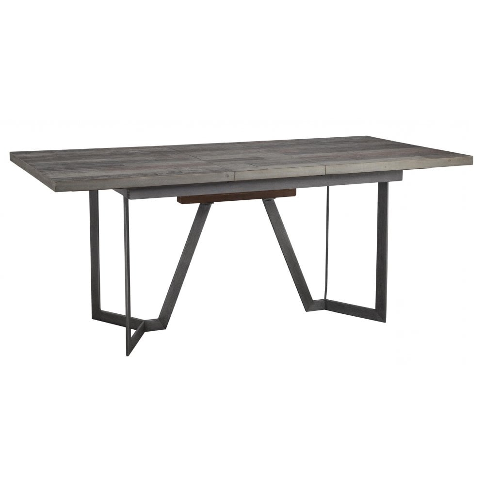 Fashionable Lux London Dining Table – Extending Rectangular 140Cm – 180Cm Within Extending Rectangular Dining Tables (View 14 of 25)