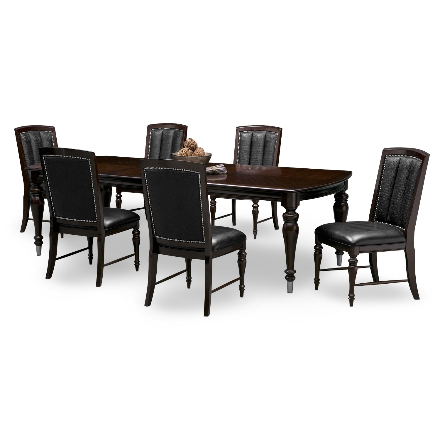 Fashionable Market 6 Piece Dining Sets With Host And Side Chairs Throughout Dining Room Furniture (View 12 of 25)
