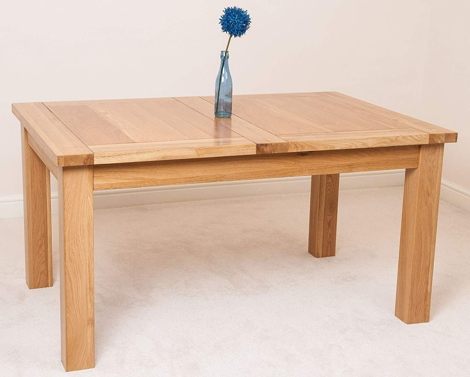 Fashionable Oak Extendable Dining Table (View 12 of 25)