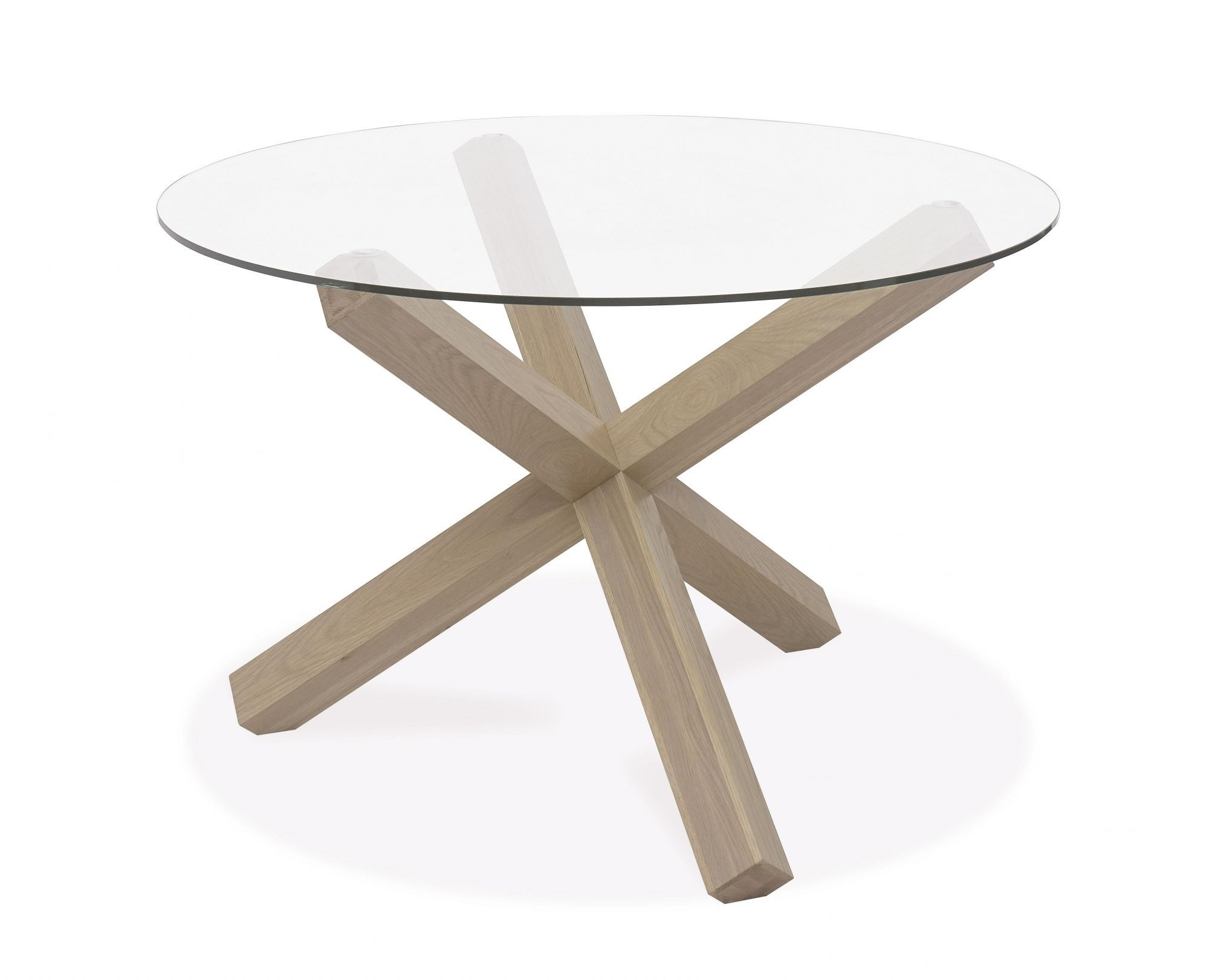 Fashionable Oak Glass Top Dining Tables Regarding Kitchen And Dining Tables, Rectangular And Round Kitchen And Dining (View 4 of 25)