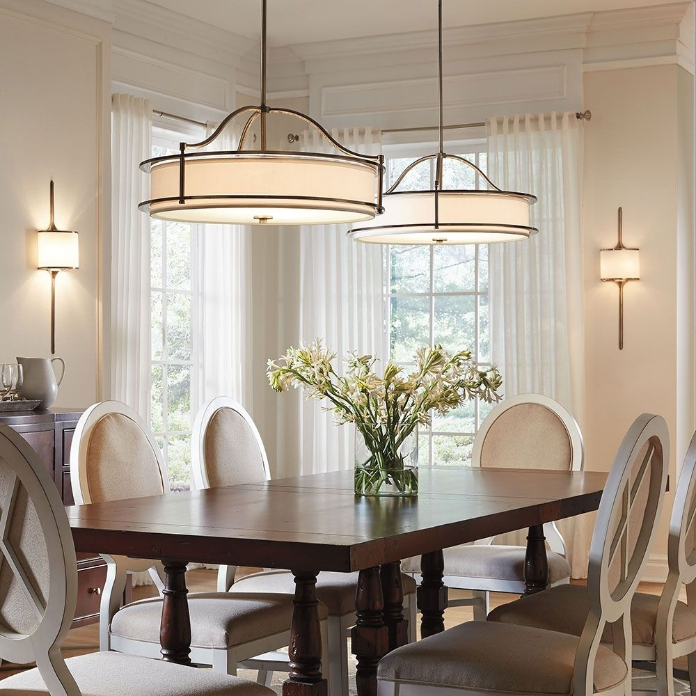 Fashionable Over Dining Tables Lights In Dining Room Lighting (View 15 of 25)