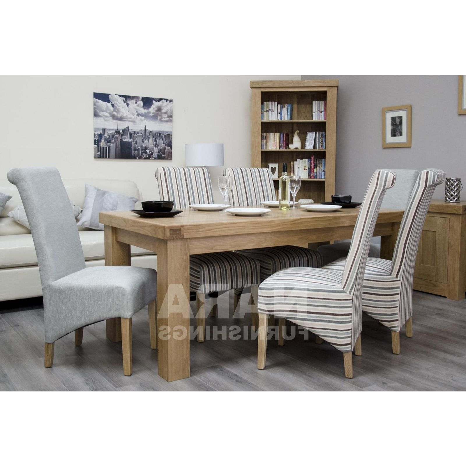 Fashionable Phoenix Dining Tables Regarding Phoenix Solid Oak Furniture 180Cm Dining Table (View 5 of 25)
